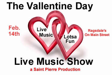 The Vallentine Day Live Music Show