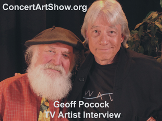 The Geoff Pocock TV Artist Interview